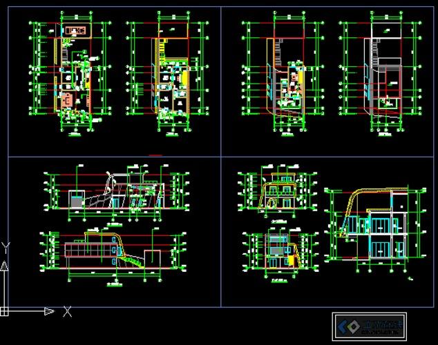 某超现代别墅建筑施工图