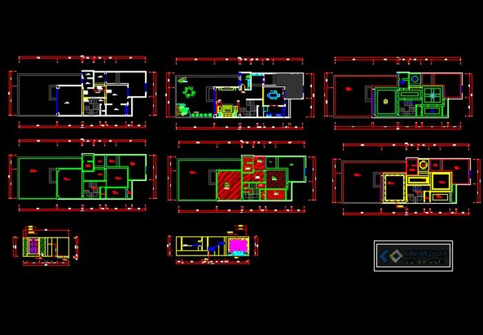 图纸 建筑图纸 别墅的部分平,立面  上传时间:2012-12-20 所属分类