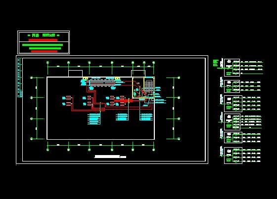合肥华润·橡树湾小区高压配电房电气全套设计施工图 某学校学生食堂