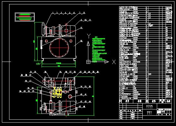 液压系统装配图图片