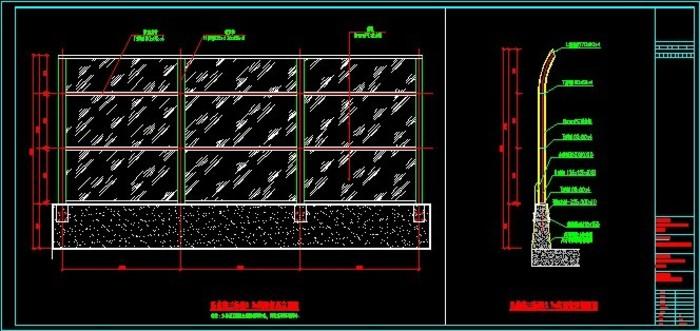 高架桥隔音屏施工图