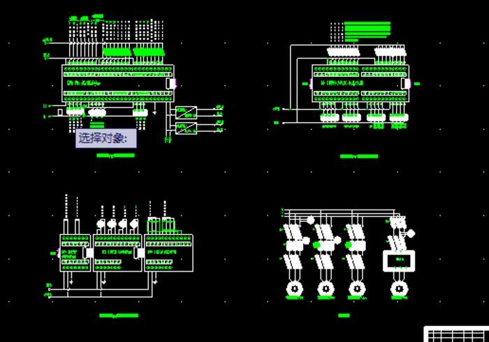 多路阀试验台plc电气控制原理图