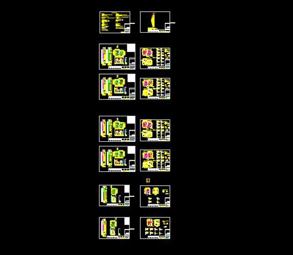 电梯全套图纸,含设计说明和五方对讲