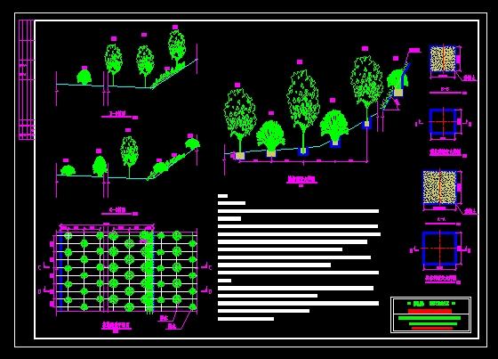 石场治理设计图_CO复式在线(原网易土木绿化100楼图纸土木在线平米图片