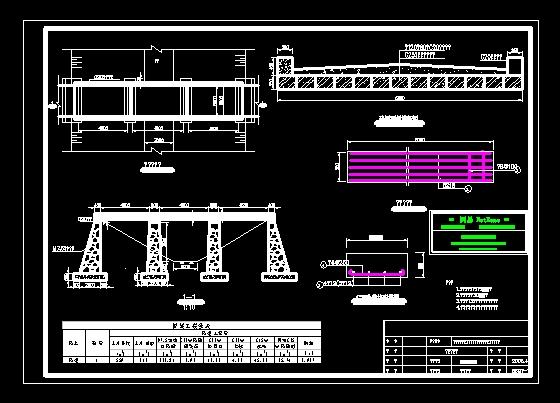 桥梁结构图