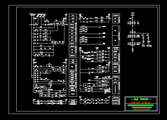 发电机控制原理图