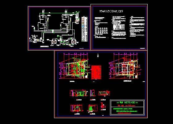 某大学食堂燃油锅炉房设计图图片