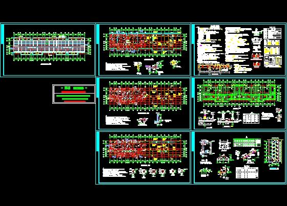 抗震設防分類為丙類,抗震設防烈度為 6度,設計地震分組第一組,設計