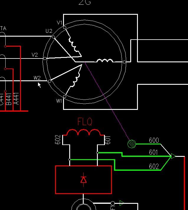 汽车12v发电机接线图图片 汽车发电机原理接线图,常见汽车高清图片