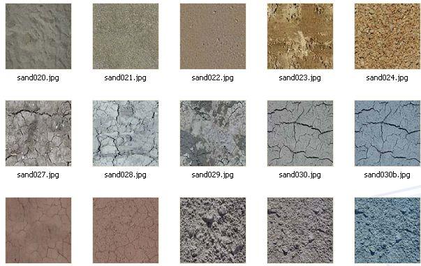 56张沙砾贴图材质