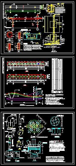 欧式大门施工图 工厂大门施工图  所属分类:围墙设计图 小区cad平面图