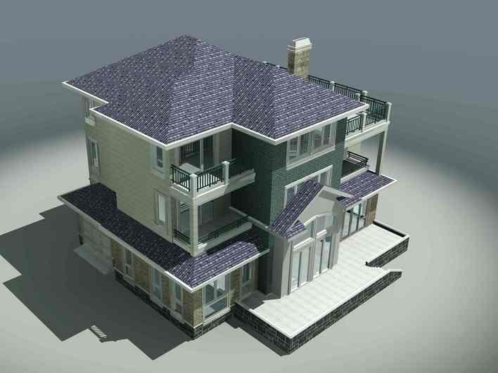 三层别墅图纸
