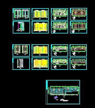 高层住宅   住宅cad电气图纸   建筑图纸   立即下载   2895高清图片