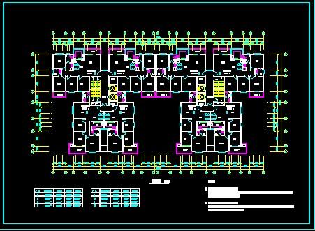 高层住宅建筑设计图展示