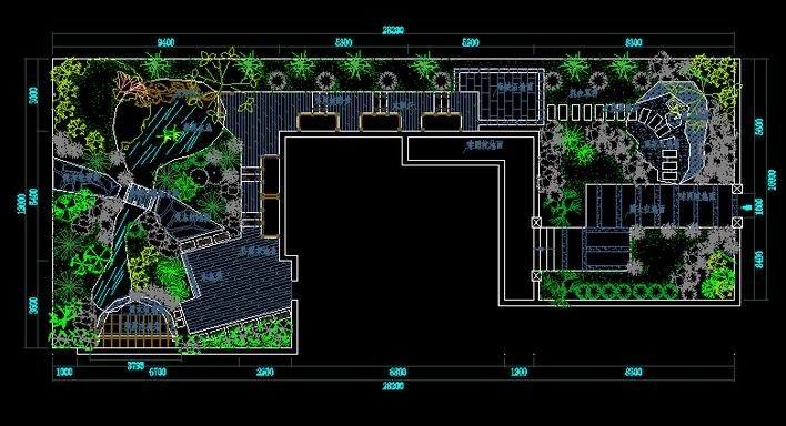 别墅花园平面布置图