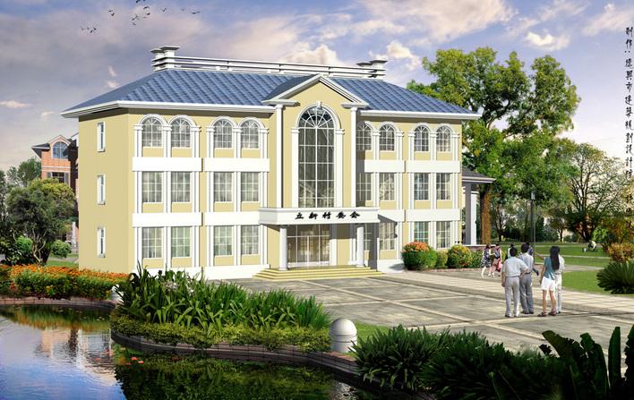 村委会办公楼设计图展示