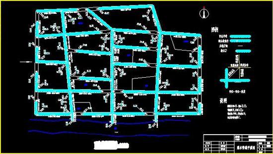 污水管道剖面图_cad图纸下载-土木在线