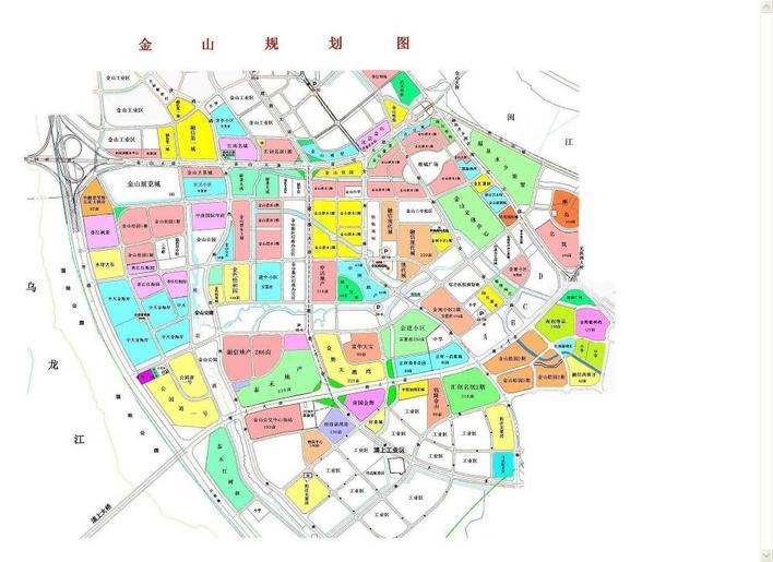 金山规划图