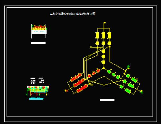 三相电动机改发电机 三相异步电动机原理图