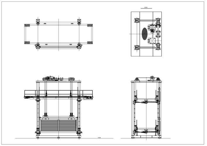 货梯式升降机图片