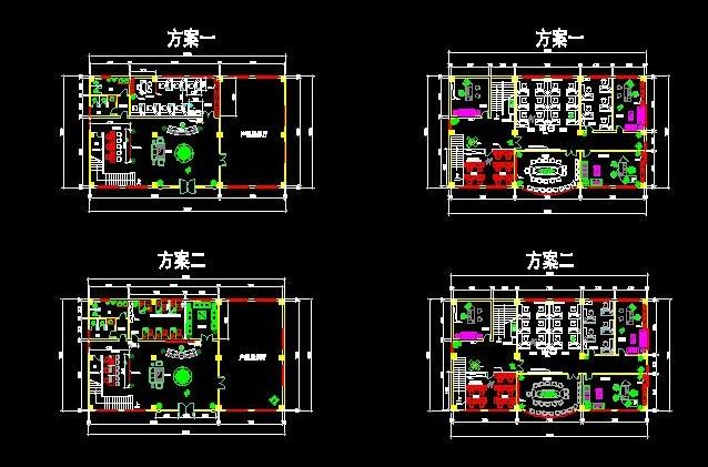 工厂办公室设计图