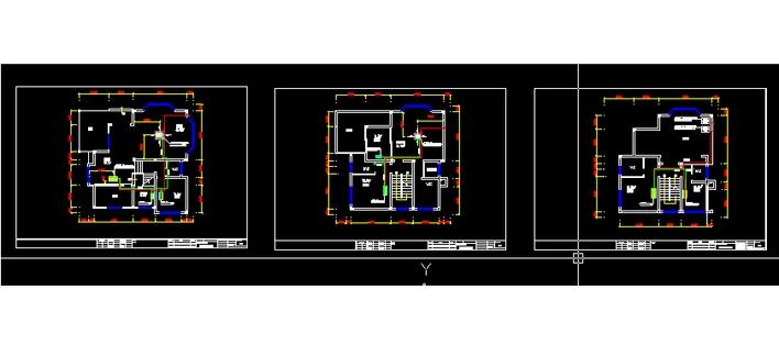 图纸 暖通设计图 别墅家用中央空调(广东)  上传时间:2008-01-04 所属