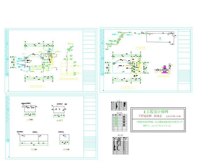 图纸 暖通设计图  消防泵房图纸    消防泵房设计图   相关专题:消防