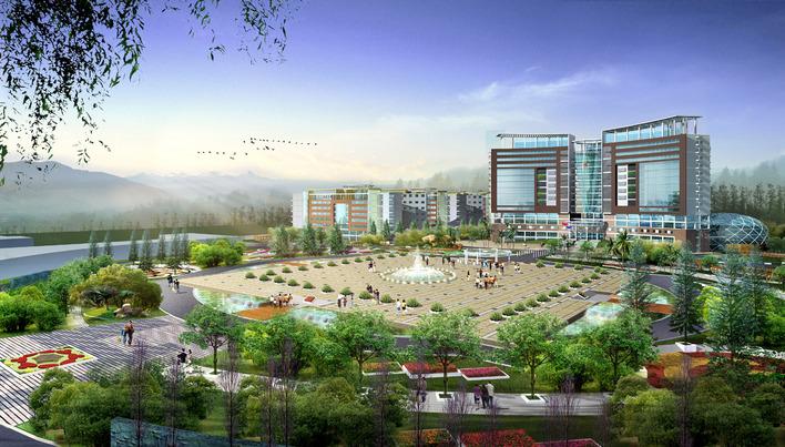 图纸 建筑图纸  行政中心    县级行政中心   相关专题:行政中心设计