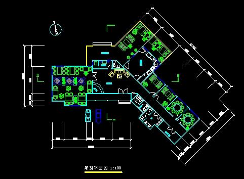 茶室设计平面图_cad图纸下载-土木在线