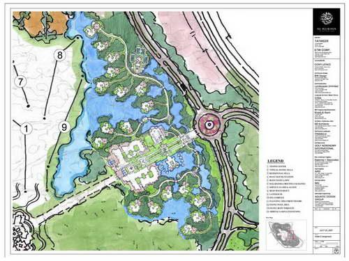 别墅区规划平面图
