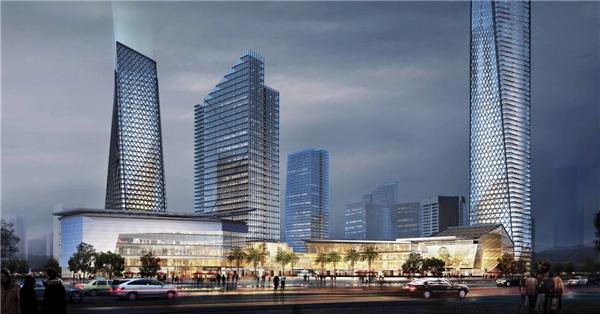 商业综合体_【深圳】250米超高层现代风格商业综合体建筑初设方案
