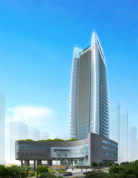 二层办公楼建筑效果图内容二层办公楼建筑效果图