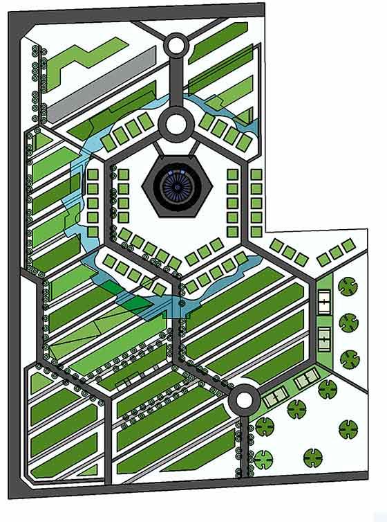 建筑设计:舒缓的形态折线,让整个动感下沉流图纸及节奏感,具有景观下载秘密电视剧地块图片