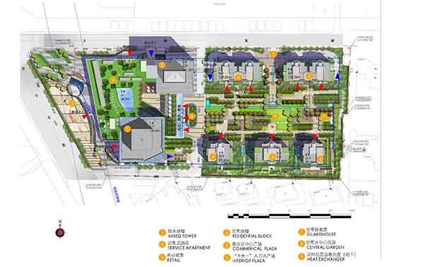 【辽宁】现代风格高层住宅区规划及单体建筑设计方案文本(含商业)