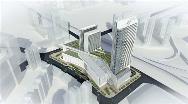 商业综合体_【湖北】大型现代风格商业综合体规划及单体设计方案