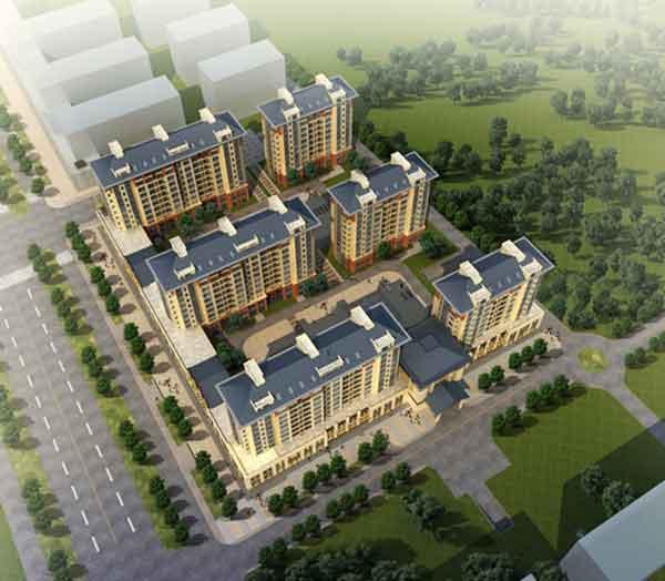 【米兰】现代单体文本住宅区规划及方案建筑设计风格高层(含cad和ppt)三年山西设计展图片