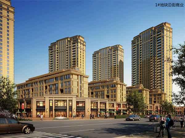 【湖北】现代风格高层混合住宅区规划及单体建筑设计方案文本