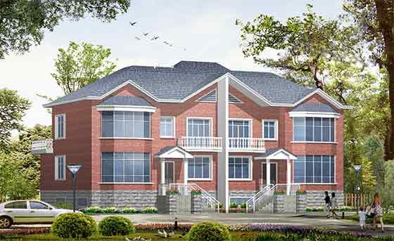【常德】某风格中式二层空间升值施工图(含效泷别墅湾建筑别墅图片