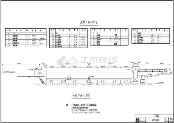 长沙县水盖房水闸报告坝资料竣工全套橡胶及图渡河画图自己纸图片