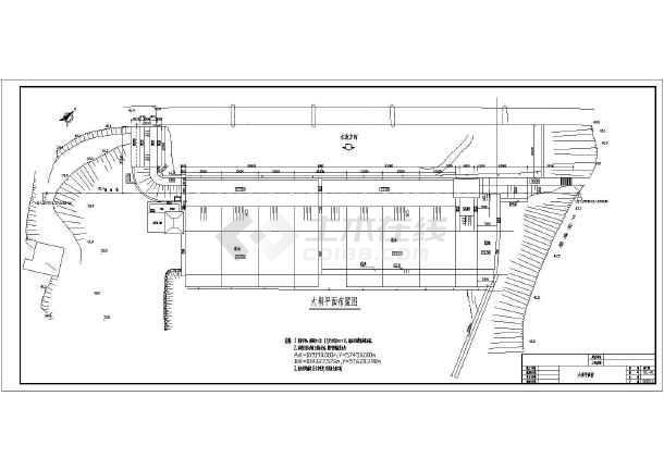 长沙县水竣工资料橡胶坝图纸渡河齿轮水闸及图cad全套出报告怎么图片
