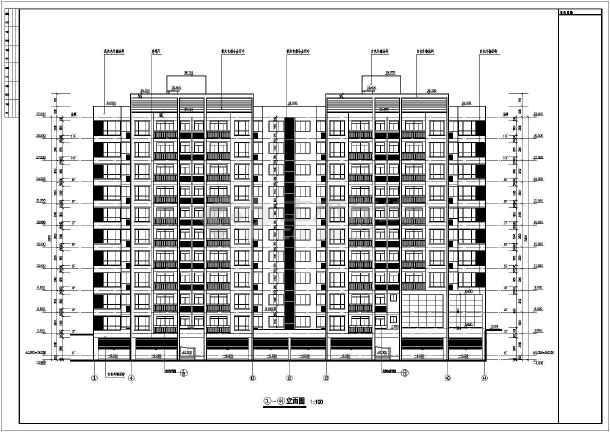 各层平面图,屋顶平面图,各立面图,各剖面图,楼梯详图,节点大样,卫生间
