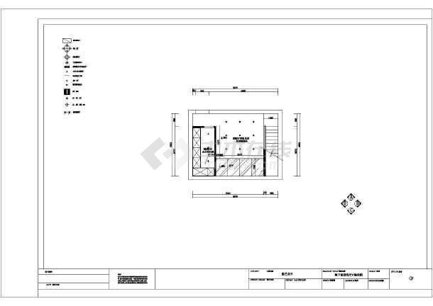 某地三层框架结构小别墅室内装修设计施工图