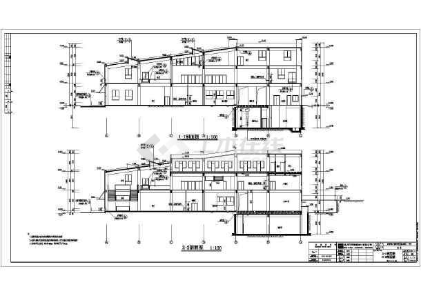屋顶平面图,各立面图,各剖面图,楼梯详图,节点详图,门窗大样,卫生间图片