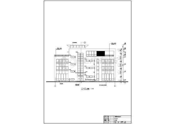 某地科技产业园办公楼建筑设计方案图