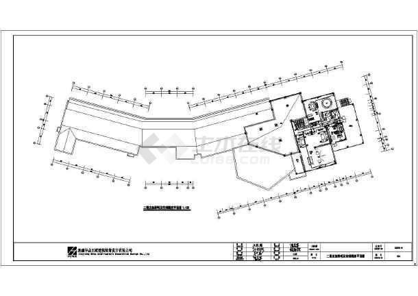 收藏此图纸 简介:图纸内容包括:总平面规划图,天花图,灯具图,地面