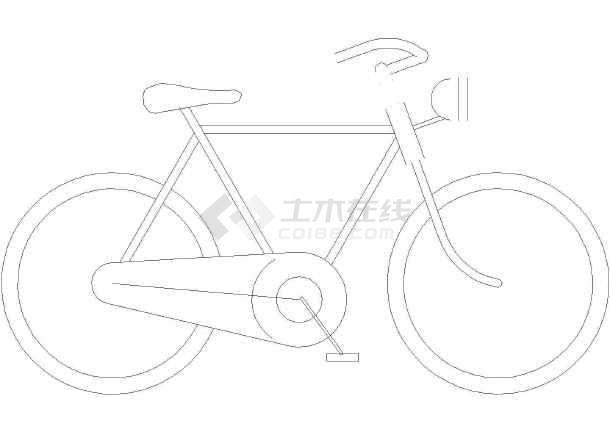 汽车_摩托车_自行车(图块)