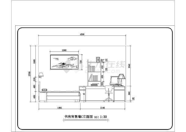某地三室两厅一厨两卫户型精装修装饰设计施工图