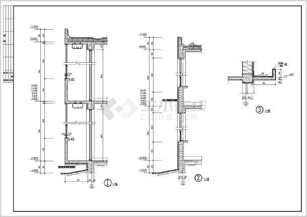 某地六层框架结构多层廉租房施工图