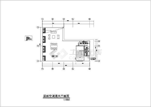 深圳某四层别墅多联机空调系统设计方案图纸