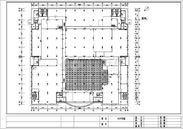 某千级工厂车间洁净空调系统设计图图片